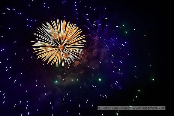 Feuerwerk Seefest Neumarkt am Wallersee 2019