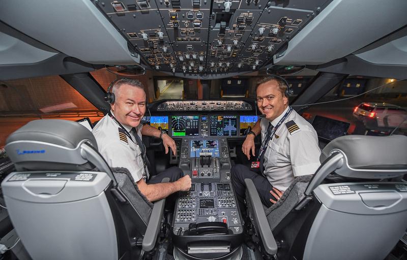 Qantas Rekordflug Oktober 2019