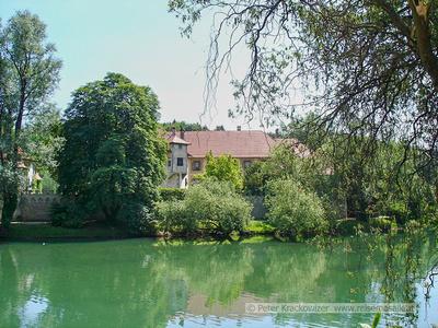 Slowenien, Wasserschloss Otocec