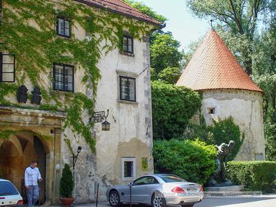 Wasserschloss Otocec, Slowenien