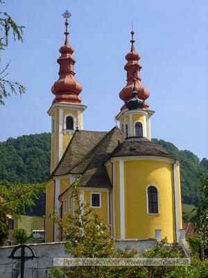 Slowenien, Wallfahrtskirche Slatka Gora