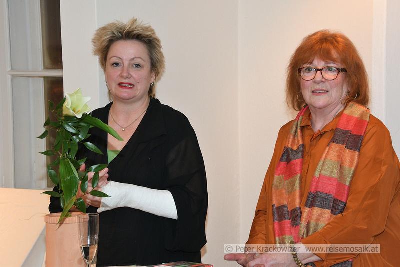 Dora Mai und Monika Bundt