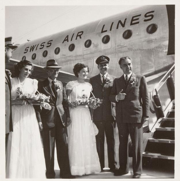 Eröffnung Flughafen Zürich-Kloten 1948