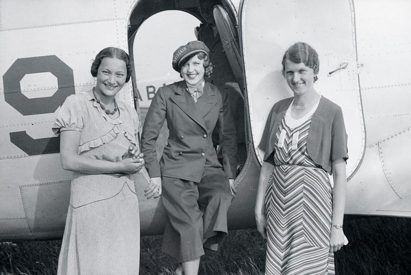 Nelly Diener Stewardess Swissair