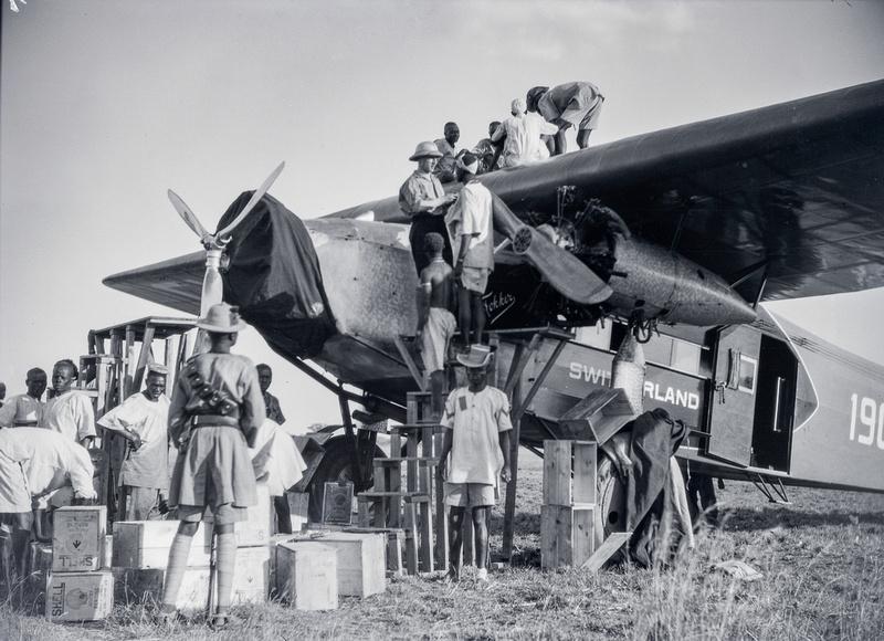Kilimanjaro-Flug Walter Mittelholzer 1929-1930