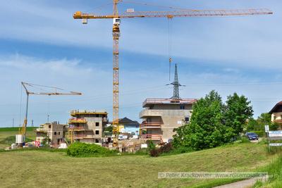 Neubauten an der Köstendorfer Straße