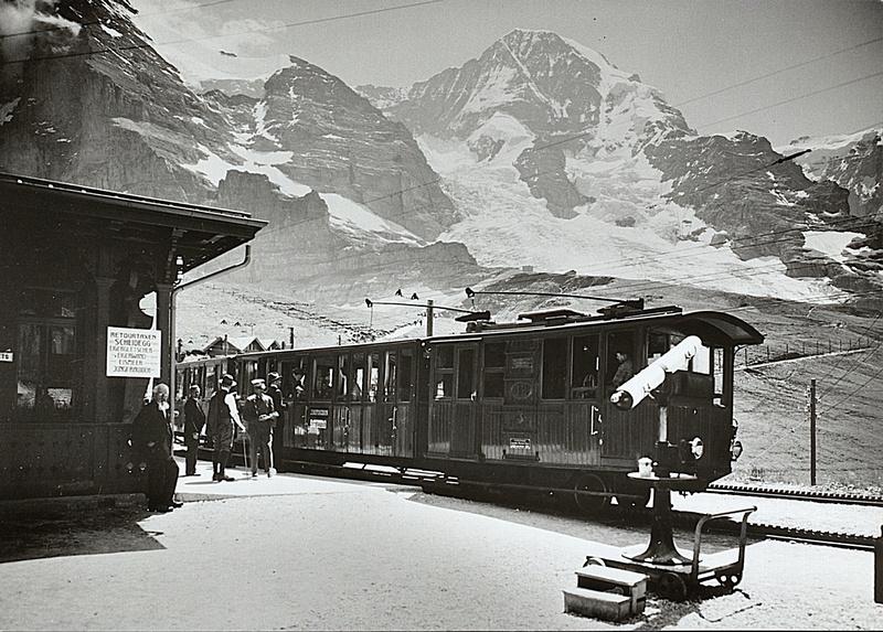 Jungfraubahn um 1912