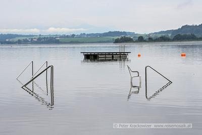 Hochwasser im Wallersee
