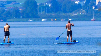 stand up paddle boards am Wallersee