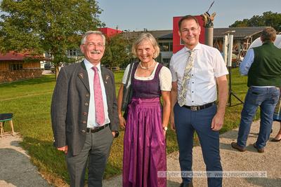 Segnung der Dreifaltigkeitssäule des Johann Weyringer