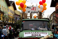 Faschingsumzug 2016 in Neumarkt am Wallersee