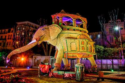 Frankreich, Das Zitronenfest von Menton. Bildquelle: © Office de tourisme de Menton: www.tourisme-menton.fr