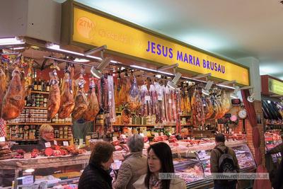 Spanien, Baskenland, San Sebastian, in der Markthalle San Martin