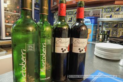 Baskenland, Txakolina, der Wein der Basken