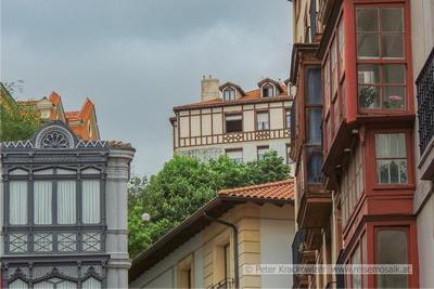 Baskenland, in der Altstadt von Bilbao