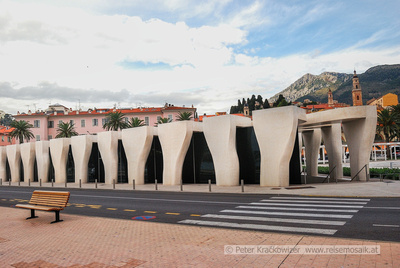 Frankreich, Riviera Côte d'Azur, das neue Museum Jean Cocteau in Menton