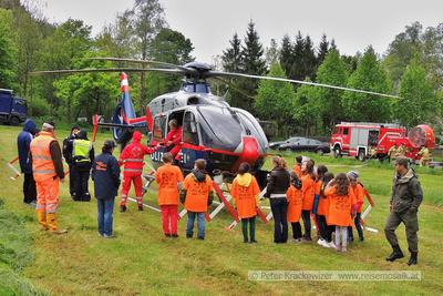Kindersicherheitsolympiade am Wallersee Mai 2014