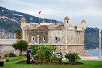 Frankreich, Riviera Côte d'Azur, Menton,  die Bastion, in der auch ein kleines Jean-Cocteau-Museum untergebracht ist