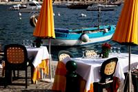 Frankreich, Restaurant La Mère Germaine, Villefranche-sur-Mer, Riviera Côte d'Azur