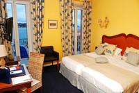 Frankreich, Hotel Welcome, Villefranche-sur-Mer, Riviera Côte d'Azur, Zimmerbeispiel