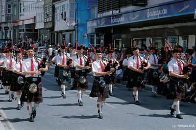 internationales Kelten-Festival in Ortigueira © Spanisches Fremdenverkehrsamt