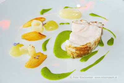 Frankreich, Côte d'Azur, im Restaurant 'Le Mirazur' (2 Sterne im Michelin-Führer) in Menton