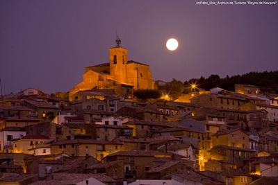 der alte Ort Aibar in Navarra © Patxi Uriz,  Archivo de Turismo Reyno de Navarra