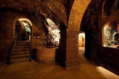 in Rueda: Bodegas Antaño, die unterirdischen Lagerräume, Kastilien und Léon © Todos los derechos Instituto de Turismo de España (TURESPAÑA)