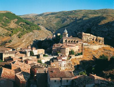 Albarracin in Aragonien, Nordspanien © Spanisches Fremdenverkehrsamt
